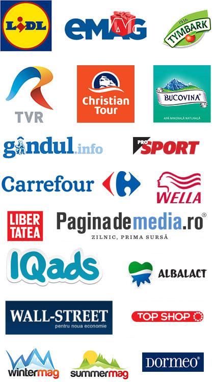 Companii care folosesc serviciul Trageri la Sorti